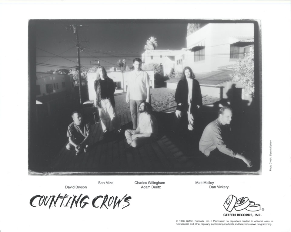 Counting Crows Promo Print