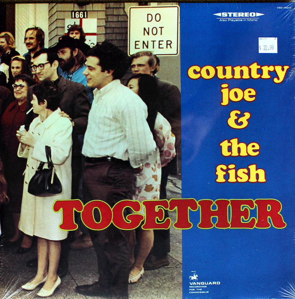 "Country Joe & the Fish Vinyl 12"" (New)"