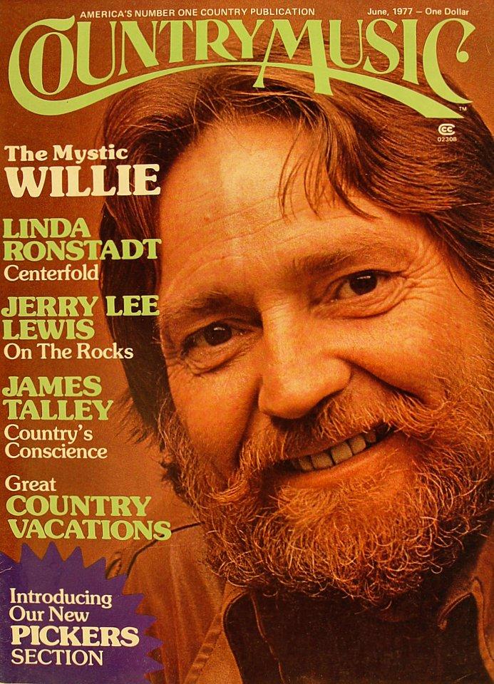 Country Music Magazine Magazine Jun 1 1977 At Wolfgangs