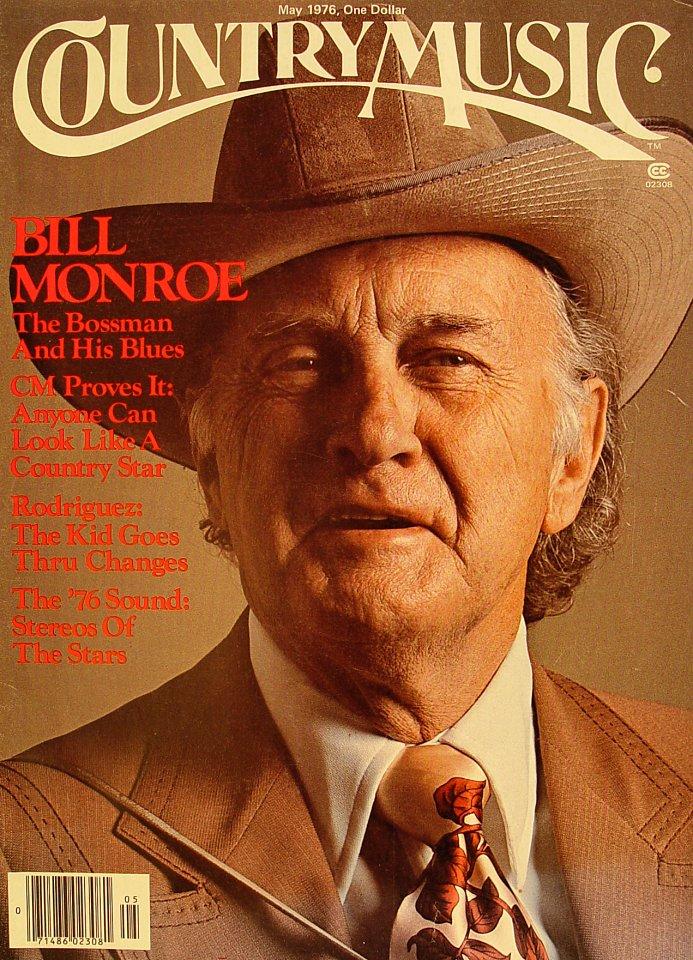 Country Music Magazine Magazine May 1 1976 At Wolfgangs