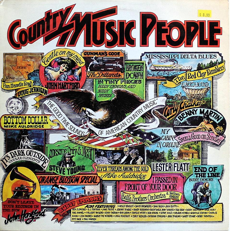 "Country Music People Vinyl 12"" (Used)"