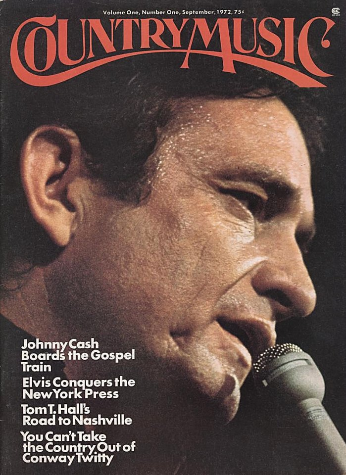 Country Music Vol 1 No 1 Magazine 1972 At Wolfgangs