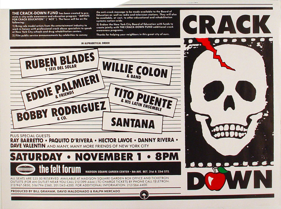 Crack Down Benefit Poster