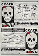 Crack Down Benefit Poster