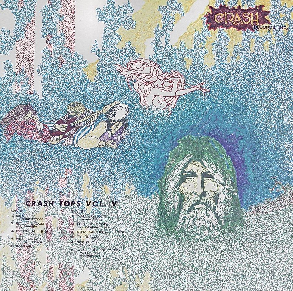 "Crash Tops Vol. V Vinyl 12"" (Used)"