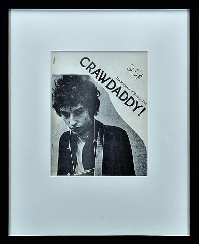 Crawdaddy Magazine #4 Framed Magazine