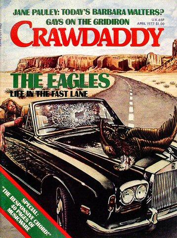 Crawdaddy Magazine April 1977 Magazine