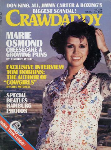 Crawdaddy Magazine August 1977 Magazine