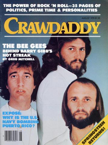 Crawdaddy Magazine August 1978 Magazine