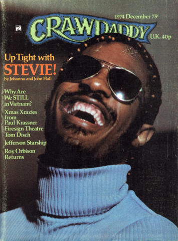 Crawdaddy Magazine December 1974 Magazine