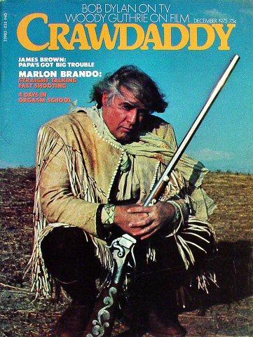 Crawdaddy Magazine December 1975 Magazine