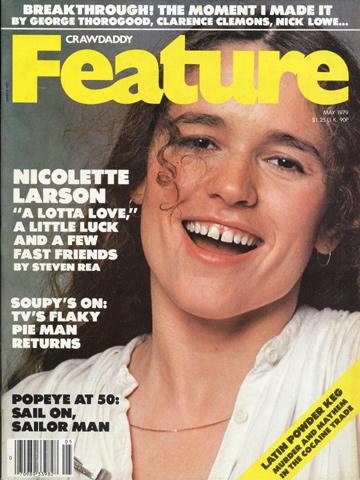 Crawdaddy Magazine Feature May 1979 Magazine