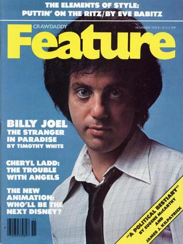 Crawdaddy Magazine Feature November 1978 Magazine