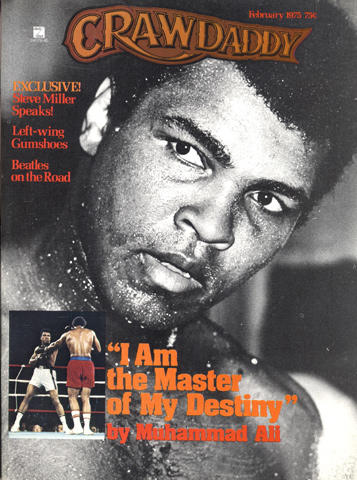 Crawdaddy Magazine February 1975 Magazine