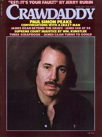 Crawdaddy Magazine February 1976 Magazine
