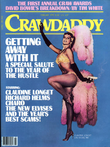 Crawdaddy Magazine February 1978 Magazine