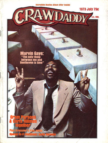 Crawdaddy Magazine July 1973 Magazine