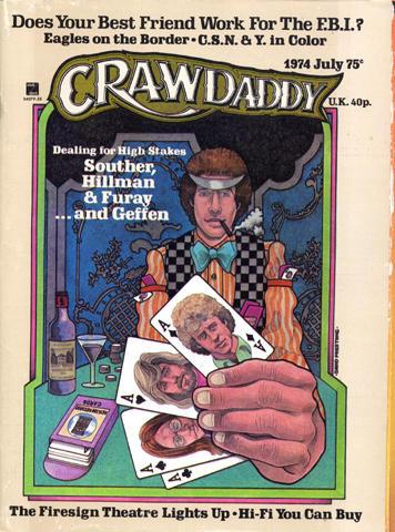 Crawdaddy Magazine July 1974 Magazine