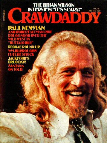 Crawdaddy Magazine July 1976 Magazine