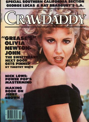 Crawdaddy Magazine July 1978 Magazine