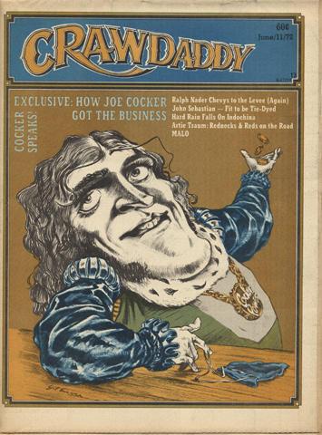 Crawdaddy Magazine June 11, 1972 Magazine