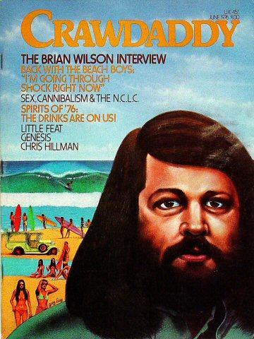 Crawdaddy Magazine June 1976 Magazine