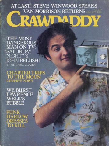 Crawdaddy Magazine June 1977 Magazine