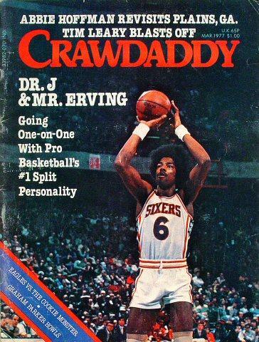 Crawdaddy Magazine March 1977 Magazine