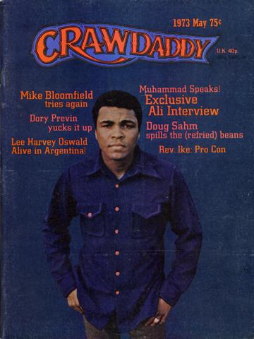 Crawdaddy Magazine May 1973 Magazine