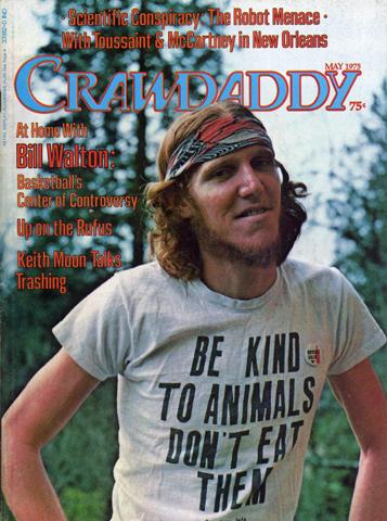 Crawdaddy Magazine May 1975 Magazine