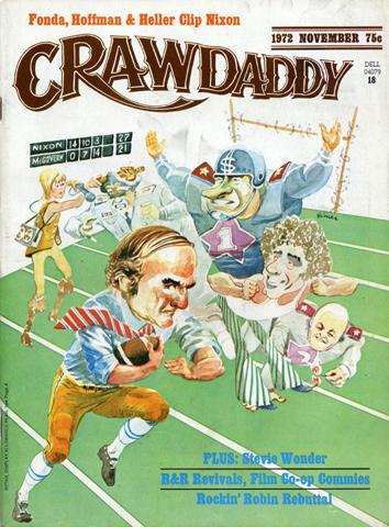 Crawdaddy Magazine November 1972 Magazine