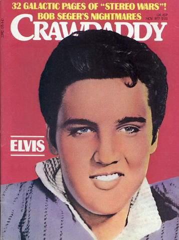 Crawdaddy Magazine November 1977 Magazine