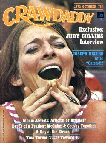 Crawdaddy Magazine October 1972 Magazine