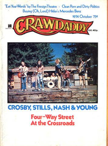 Crawdaddy Magazine October 1974 Magazine
