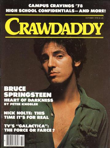 Crawdaddy Magazine October 1978 Magazine