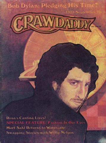 Crawdaddy Magazine September 1973 Magazine