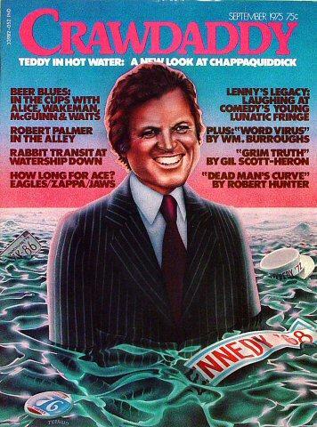 Crawdaddy Magazine September 1975 Magazine