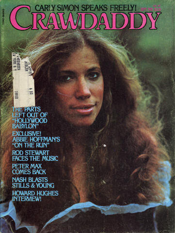 Crawdaddy Magazine September 1976 Magazine