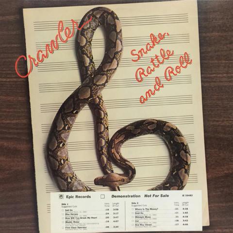 "Crawler Vinyl 12"" (Used)"