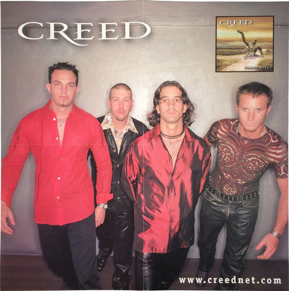 creed vintage concert poster 1999 at wolfgang 39 s. Black Bedroom Furniture Sets. Home Design Ideas