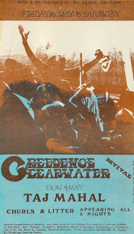 Creedence Clearwater Revival Postcard