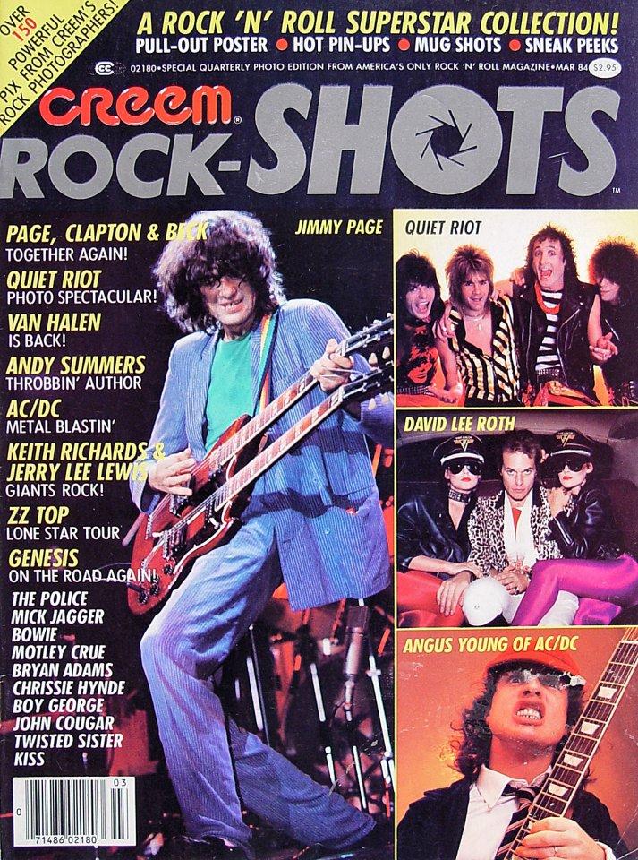 Creem Rock-Shots