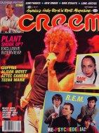 Creem  Sep 1,1985 Magazine
