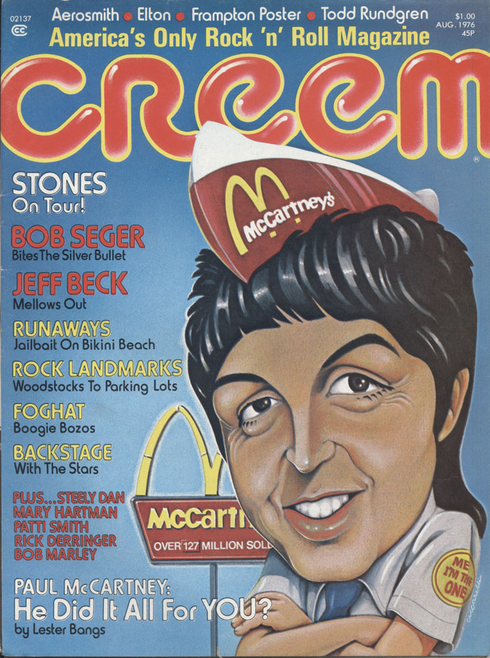 Creem Vol. 8 No. 3