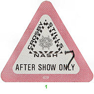 Crosby, Stills & Nash Backstage Pass