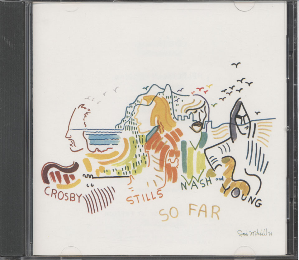 Crosby, Stills, Nash & Young CD