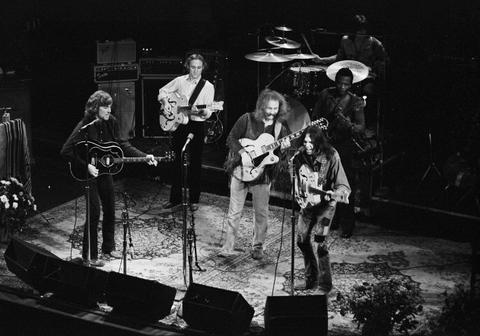Crosby, Stills, Nash & Young Fine Art Print