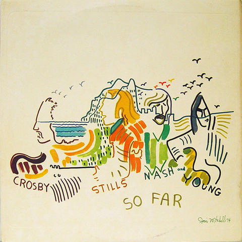 "Crosby, Stills, Nash & Young Vinyl 12"" (Used)"