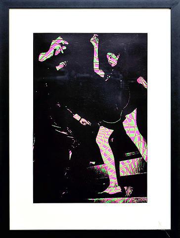 Crowd Framed Fine Art Print