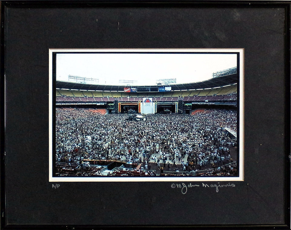 Crowd Framed Vintage Print